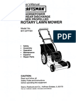 Lawnmower Craftsman l0010526