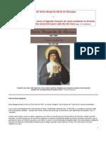 Reseña Santa Margarita María de Alacoque y Junio dedicado al Sagrado Corazón