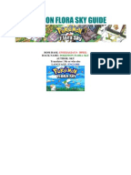 Pokemon Flora Sky Walkthrough Part 24 - Dark Cave, HM08 ...