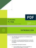 Cursores PL SQL