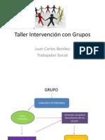 Taller Intervención Con Grupos