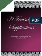 A Treasury of Supplications