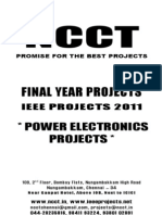 NCCT-2011-2012 IEEE Projects List-Power Electronics Project Titles