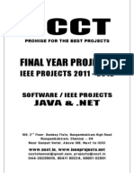 Ncct-2011 .Net Ieee Project Titles-2011-2012