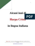 Harpa Cristã - inni in lingua italiana