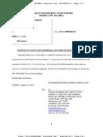 081511 Maverick Entertainment Dismissals