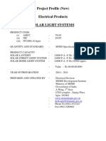 Modified Solar Light Systems PP