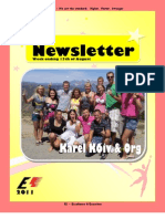 Newsletter Week 9 2011