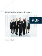 Article-How to Monitor a Project