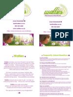 Wallies Brochure