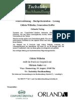 Gülcin Wilhelm, Generation Koffer