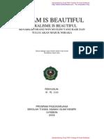 ISLAM is Beautiful, Pruralisme is Beautiful by dr Liza (Pasca Sarjana STAIN Cirebon)