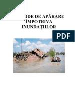 Metode de Aparare Impotriva Inundatiilor