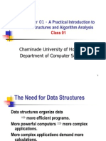 CS350-CH01 - Data Structures and Algorithms