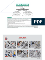 Catalogue Produits Metallurgique