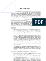 Agreement Word File