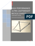 Report High Performance Lightweight Bicycle Chassis