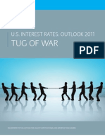 US Interest Rates Outlook 2011 - Tug of War
