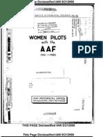 Air Force WASP Women Pilots