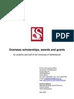 International Scholarships Booklet