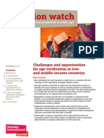 Challenges and Opportunities for Age Verification in Low- and Middle-income Countries.
