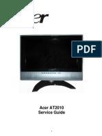 Acer At2010 Lcd Tv Sm