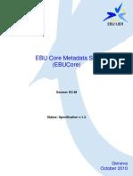 EBU Core Metadata Set
