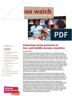 Financing Social Pensions in Low- and Middle- income Countries.