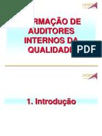 Formacao de Auditores Internos Da Qualidade