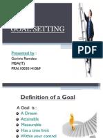 Goal Setting Garima
