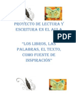 proyecto lectura