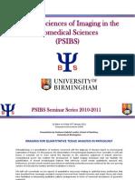 Seminar Series 2010 2011