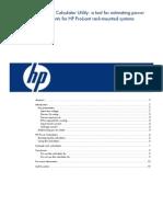 HP Power Calculator Utility