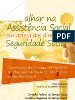 cartilha-101004214426-phpapp02Trabalhar na Assistência Social