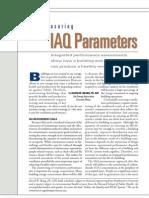 Measuring IAQ Parameters