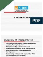SIDBI Schemes for SME's