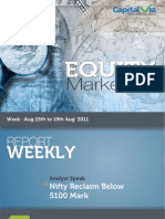 Stock Market Reports for the Week (16-20th August '11)