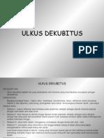 ULKUS DEKUBITUS & MALNUTRISI