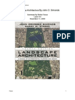 Landscape Architecture by John Simonds
