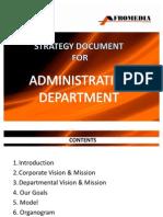 Admin Strategy Document
