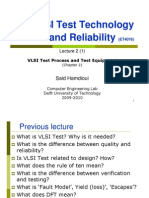 Module 2 VLSI Test Process and ATE