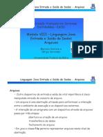 8 Java Arquivos