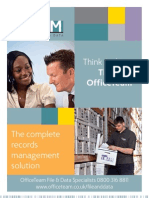 File and Data Corporate Brochure