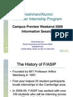 2009 CPW Presentation