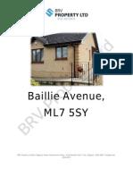 Baillie Avenue