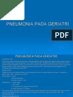 Pneumonia Pada Geriatri & Infeksi Saluran Kemih