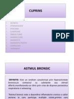 Ingrijirea Pacientilor Cu Astm Bronsic