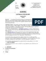 Agenda 81611