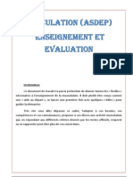 Muscu Enseignement Evaluation GADUEL
