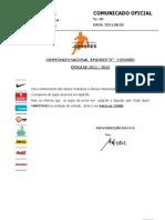 CO040 CN Juniores a IDivisao 2011-12